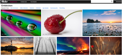 flickr neue Version