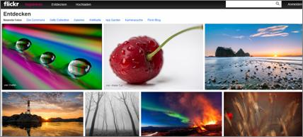 flickr neue Version