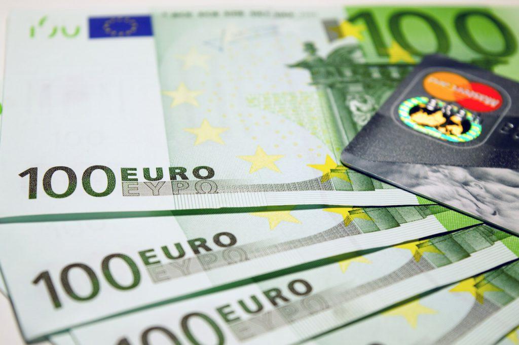 100 euro kreditkarte